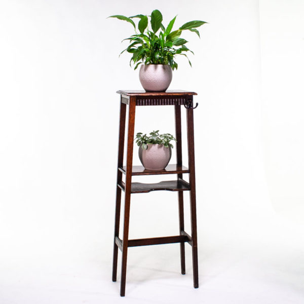 Arts & Craft Vintage Wooden Plant Pot Stand