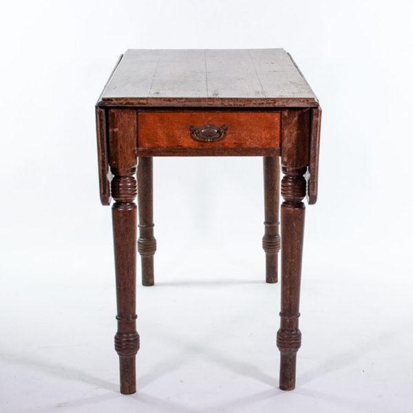 Vintage Oak Folding Dining Table