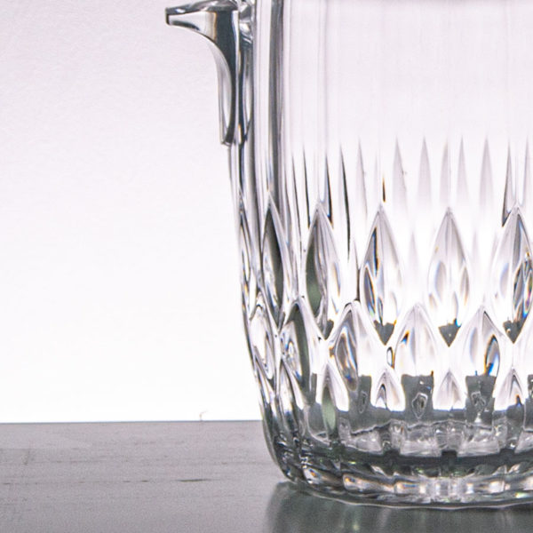 Vintage Crystal Glass Wine Cooler
