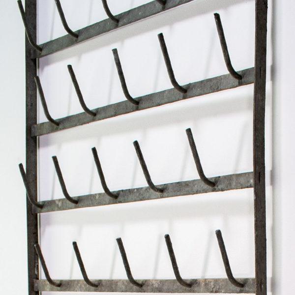 Vintage Bottle Drying Rack