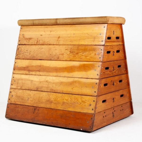 Vintage Gym Vaulting Box