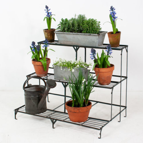 Vintage 3 Tier Etagere Plant Stand