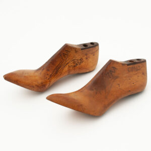 Pair of Vintage Wooden Shoe Lasts