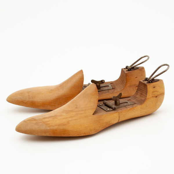 Pair of Vintage Wooden Shoe Stretchers