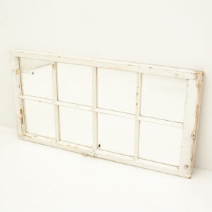 Vintage 8 Pane Window Mirror