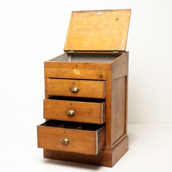 Vintage Pine Storage Unit