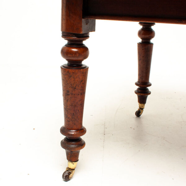 Vintage Walnut Extending Dining Table