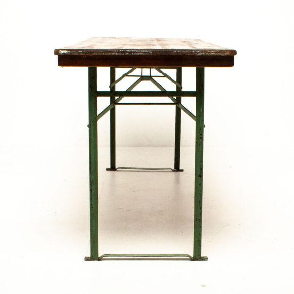 Vintage Folding Beer Table